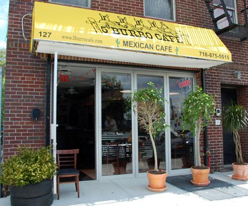 5 Burro Cafe